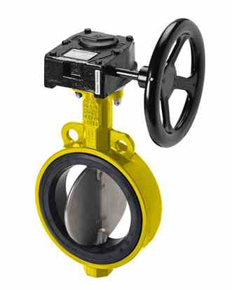 Gefa KG2 DVGW  Soft Seated Butterfly Valve